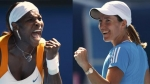 justine henin, serena williams