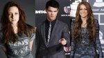 kristen stewart, taylor lautner, miley cyrus