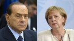 silvio berlusconi, angela merker