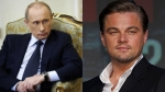 leonardo di caprio, vladimir putin