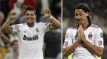 Cristiano Ronaldo, Zlatan Ibrahimovic