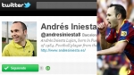 FC Barcelona, Andrs Iniesta, Facebook, Twitter, Liga de Campeones, Manchester United, Final Champions League