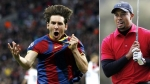Lionel Messi, , Tiger Woods