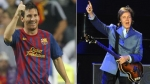 Greenpeace, Lionel Messi, Paul McCartney