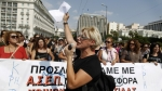 Crisis en Grecia, Despidos, Protestas en Grecia