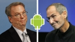 Steve Jobs, Apple, Google, Android, Eric Schmidt