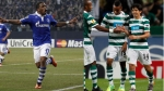 Jefferson Farfn, Schalke 04, Europa League,  Sporting de Lisboa,  Andre Carrillo