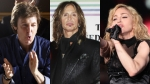 Paul McCartney, Madonna, Ringo Starr, Aerosmith, Lanzamientos, Discos