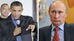 Barack Obama, Vladimir Putin