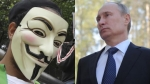 Vladimir Putin, Rusia, Anonymous, Internet