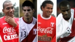 Santiago Acasiete, Carlos Zambrano, Alberto Rodrguez, Christian Ramos, Eliminatorias Brasil 2014, Seleccin peruana