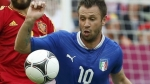 Antonio Cassano, Eurocopa 2012, Seleccin italaiana