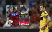 Iker Casillas, Seleccin espaola, Gianluigi Buffon, Eurocopa 2012
