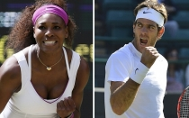 Wimbledon, WTA, ATP, Serena Williams, Juan Martn del Potro