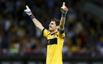 Iker Casillas, Seleccin espaola, Eurocopa 2012, Espaa campen 2012