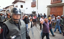Conflictos sociales, Cajamarca, Estado de emergencia, Bambamarca, Protestas antimineras, Hualgayoc, Proyecto Conga