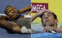 Michael Phelps, Usain Bolt