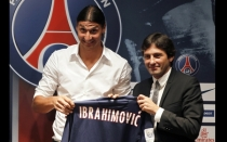 Zlatan Ibrahimovic, Ftbol francs, Pars Saint Germain