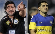 Diego Maradona, Juan Romn Riquelme, Ftbol argentino, Diego Armando Maradona, Boca Juniors