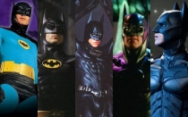George Clooney, Christian Bale, Michael Keaton, Val Kilmer, Batman, Adam West