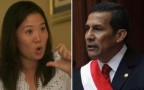 Keiko Fujimori, Ollanta Humala, 