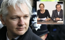 Julian Assange, Christine Assange