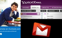 Yahoo, Microsoft, Gmail, Google, Hotmail, Windows 8, Outlook