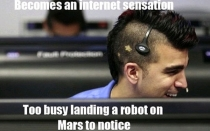 NASA, Marte, , Curiosity, Bobak Ferdowsi,  The mohawk guy