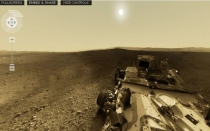 NASA, Marte, 360, Curiosity