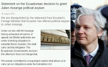 Ecuador, Reino Unido, Julian Assange, Wikileaks