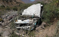 Accidentes de trnsito, Huancavelica, Tayacaja, Pampas