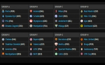 Sorteo, Champions League, Liga de Campeones, UEFA