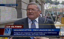 Ministerio de Justicia, Grupo Colina, Caso Barrios Altos, Poder Judicial, Corte IDH
