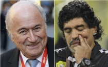 FIFA, Jos Mourinho, Diego Maradona, Lionel Messi, Joseph Blatter, Pel, Alfredo Di Stfano, Diego Armando Maradona