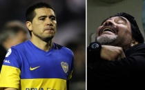 Juan Romn Riquelme, Ftbol argentino, Diego Armando Maradona, Boca Juniors