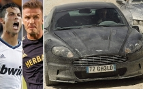 David Beckham, Cristiano Ronaldo, James Bond, Real Madrid