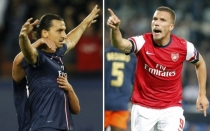 PSG, Zlatan Ibrahimovic, Arsenal FC, Liga de Campeones, Pars Saint Germain