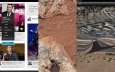 NASA, Marte, Myspace, Curiosity, Facebook, Apple Maps