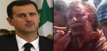 Muamar Gadafi, Bashar al Assad