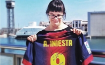 FC Barcelona, Liga espaola, Ftbol espaol, Andrs Iniesta, Anna Vives