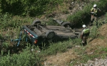 Áncash, Accidentes en carreteras, Huaraz