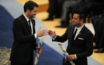 FC Barcelona, Premio Prncipe de Asturias, Iker Casillas, Xavi Hernndez, Felipe de Borbn, Real Madrid, Prncipe Felipe