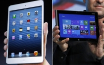 , Microsoft, Apple, iPad mini, Tabletas, Surface