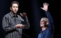 Steve Jobs, Tim Cook, Scott Forstall