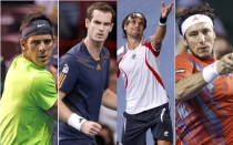 Novak Djokovic, David Ferrer, Andy Murray, Juan Martn del Potro, ATP, Juan Mnaco, Tenis, Masters 1000 de Pars-Bercy
