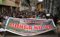 Cajamarca, Protestas antimineras, Conflictos socioambientales, Proyecto Conga