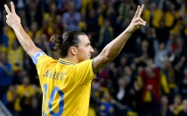 Zlatan Ibrahimovic, Seleccin inglesa, Amistosos internacionales, Seleccin sueca