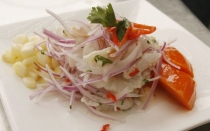 , ONU, Comida peruana, Cebiche,  Eventos benficos