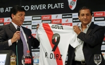 Ramn Daz, Ftbol argentino, River Plate