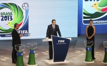FIFA, Adriana Lima, Jerome Valcke, Seleccin brasilea, Copa Confederaciones 2013, Brasil 2014, Seleccin espaola